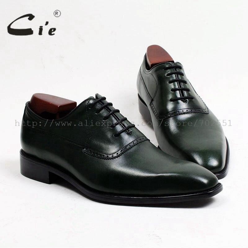 كيي-نعل خارجي من جلد العجل للرجال ، جزء علوي لاصق مصنوع يدويًا حسب الطلب ، لون أكسفورد بني ، حذاء رقم OX466 ، شحن مجاني