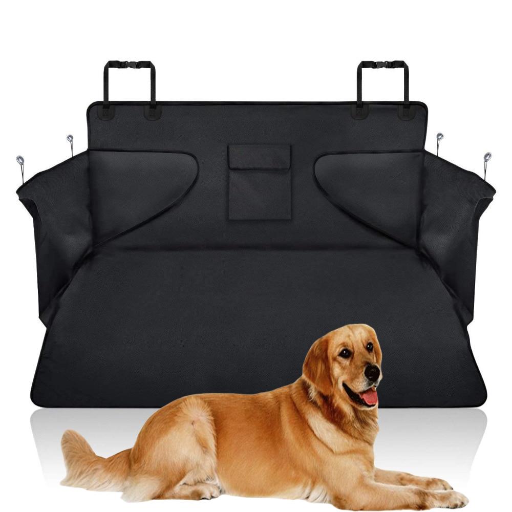 Funda de asiento de coche para mascotas, asiento trasero para perro y gato, resistente al agua, antideslizante, duradero, Protector de cojín para hamaca