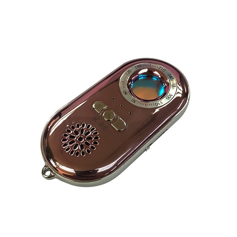 Novedad de 2019, el mejor dispositivo de lente espía para Hotel, rastreador + móvil Wallent, dispositivo de alarma antipérdida, dos en uno