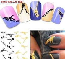 Mode japan style1 Blätter 3D Design niedlich DIY wasser zipper Spitze Nail art Nagel Aufkleber Nägel Aufkleber Maniküre nagel werkzeuge XF1268