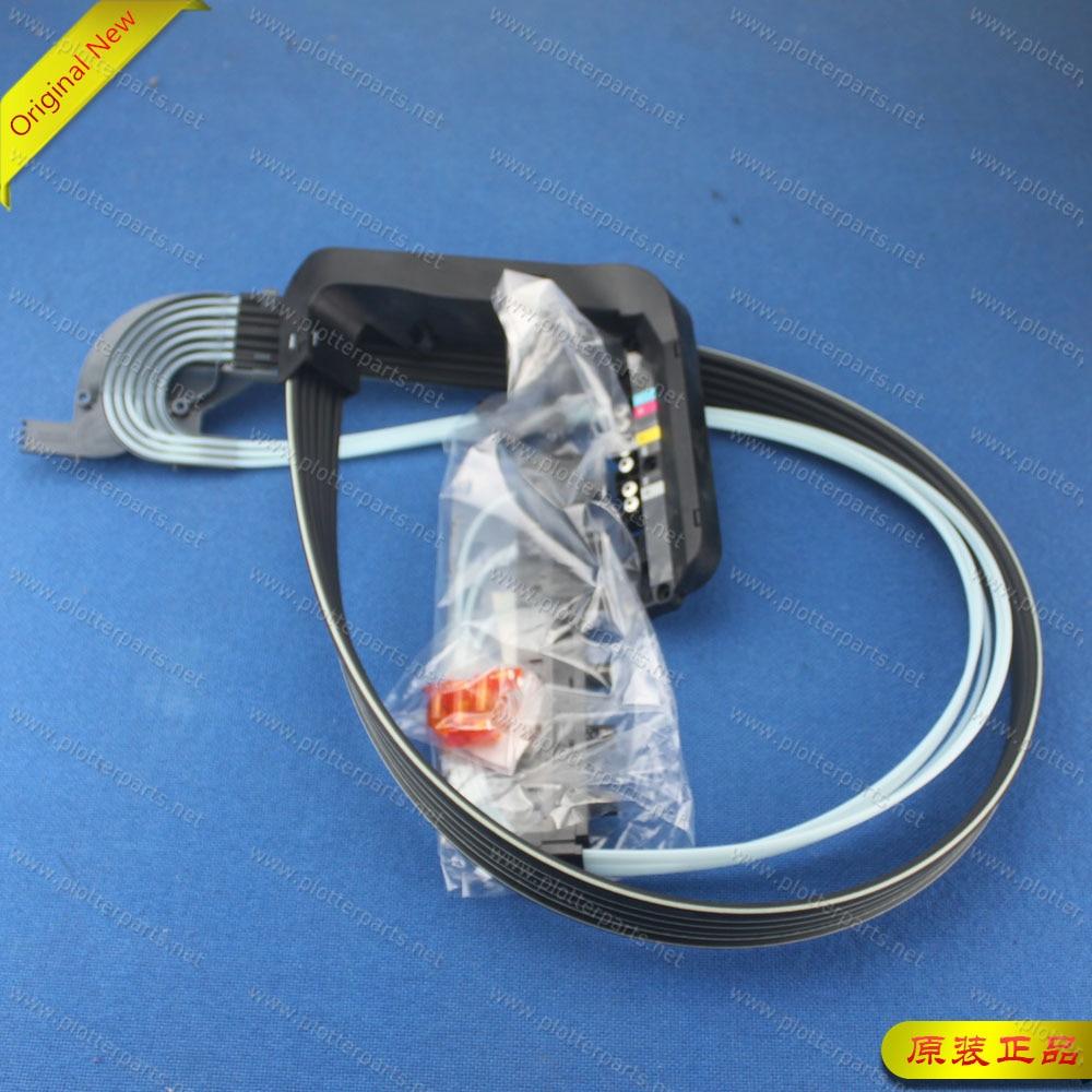 Q6677-60007 أنابيب إمدادات الحبر ل طابعة تصميم إتش بي Z2100 Z5200 Z2100 صور B0 44 بوصة الأصلي الجديد