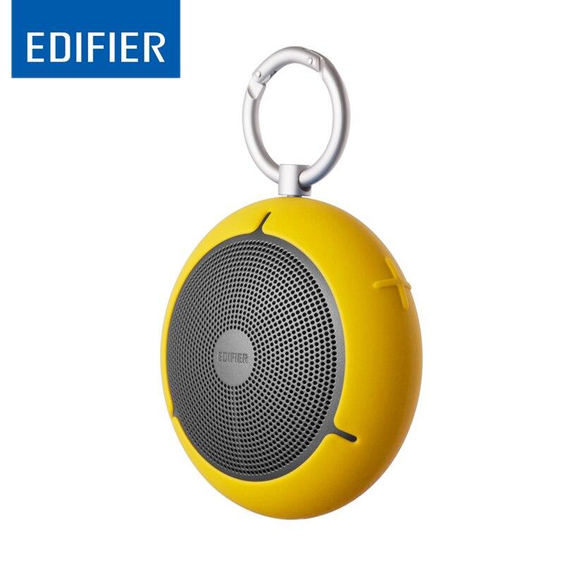 EDIFIER MP100 Outdoor Mini Type Bluetooth Wireless Speaker Portable Waterproof Audio Breakpoint Memory TF Card Player