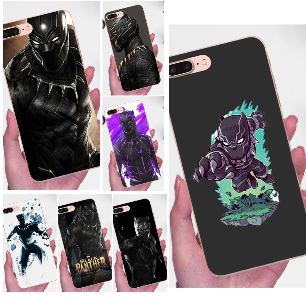 Pantera Negra Multi colores para Galaxy Grand alfa G850 Core2 primer S2 I9082 A3 A5 A7 On5 On7 2015 de 2016 a 2017