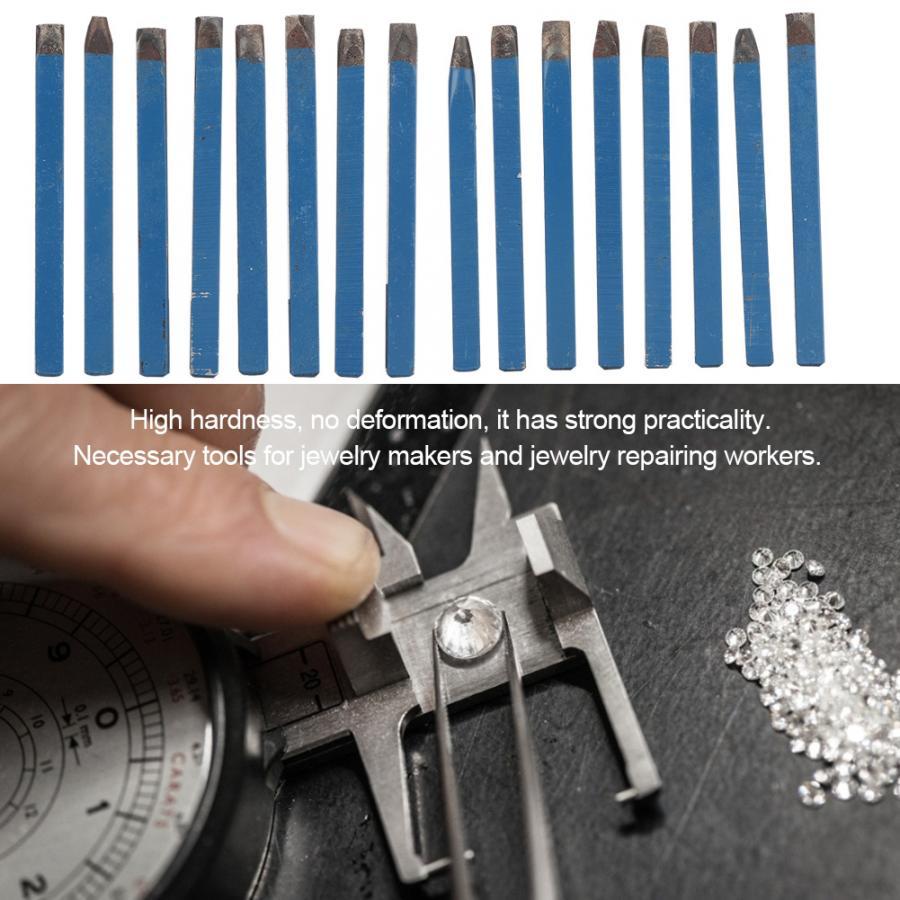 DIY tallado joyería Anvil cincel Kit de patrones de flores Anvil cincel equipo Kit de joyería profesional herramienta de grabado de joyería