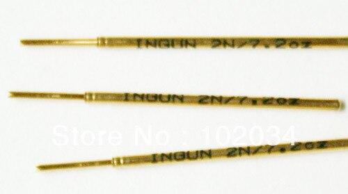 100 قطعة/الوحدة 100% الأصلي INGUN GKS-075-214-064 GKS-075 214 064 2000 الربيع اختبار التحقيق بوجو دبوس صنع في ألمانيا