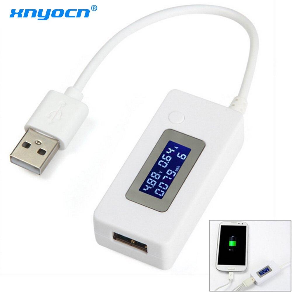 ЖК-вольтметр, USB зарядное устройство, измеритель емкости, тока, напряжения, измеритель напряжения для сотового телефона, внешний аккумулято...