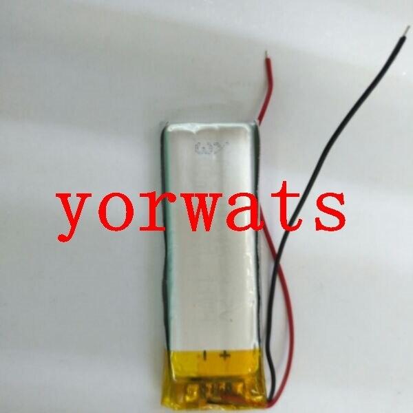 Nuevo caliente recargable de celda de Li-Ion 3,7 V batería de polímero de litio 501646 Grabación de 051646 pluma de punto de lectura pluma de negocios goma de mascar