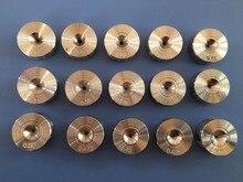 Tungstène acier fil oeil dessin die pull fil bijoux outils tirettes forme ronde 0.26-0.7mm