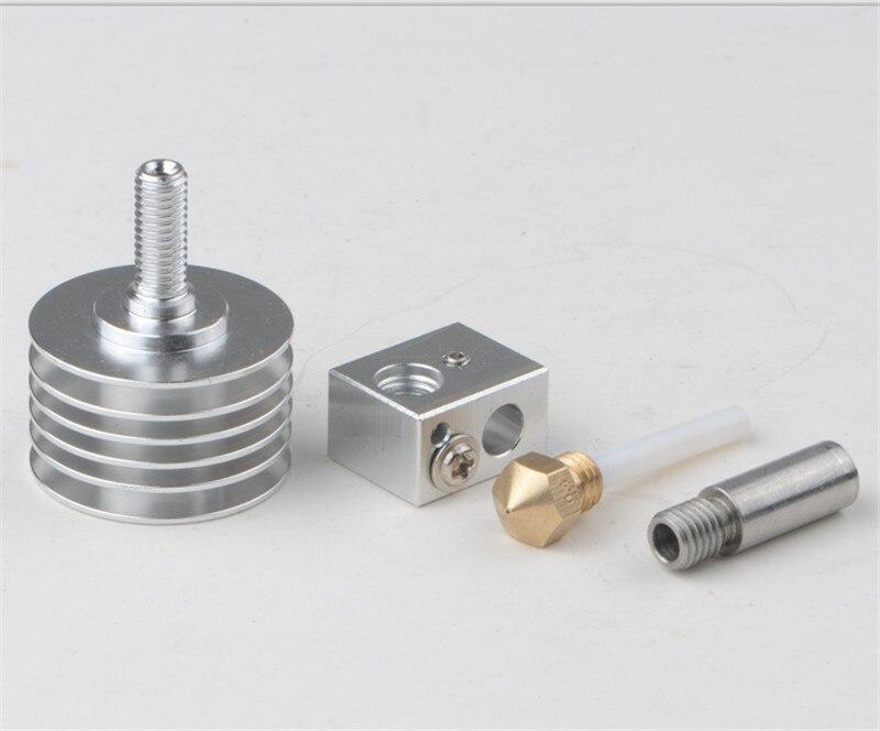 MK10 hotend kit أنبوب PTFE من الداخل لأجزاء الطابعة ثلاثية الأبعاد ، خيوط Reprap 1.75 مللي متر