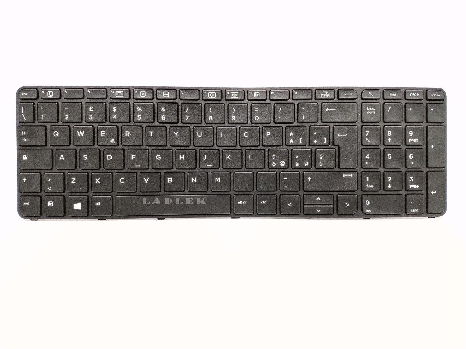 Italiana Tastiera para HP ProBook 450 G3/455 G3/450 G4/455 G4/470 G3
