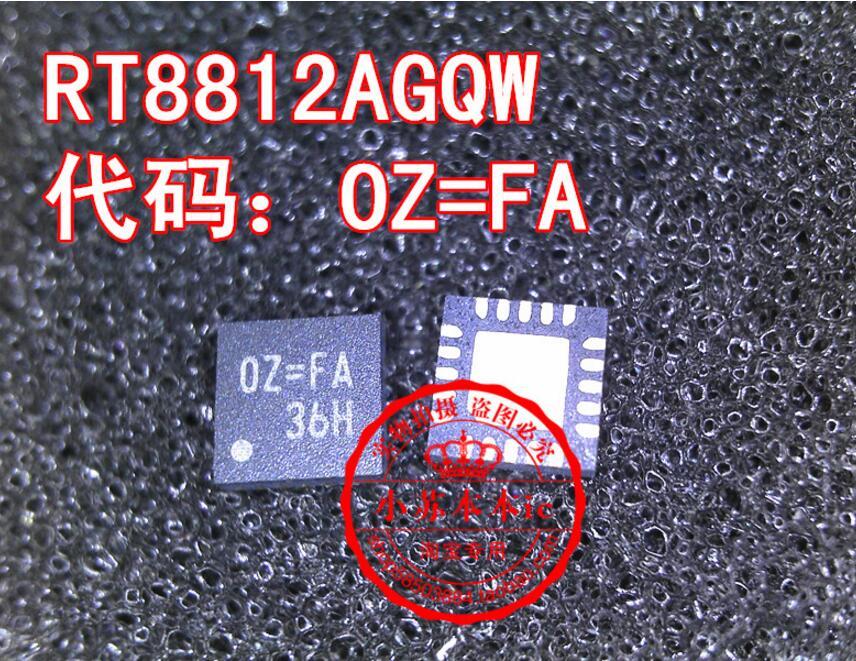20 piezas RT8812A RT8812AGQW OZ = EA OZ = EL 0Z = los OZ = AE OZ = QFN20