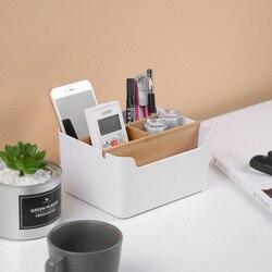 Criativo multi-funcional caixa de armazenamento de mesa de escritório acessórios penholder material de escritório artigos de papelaria organizador de mesa