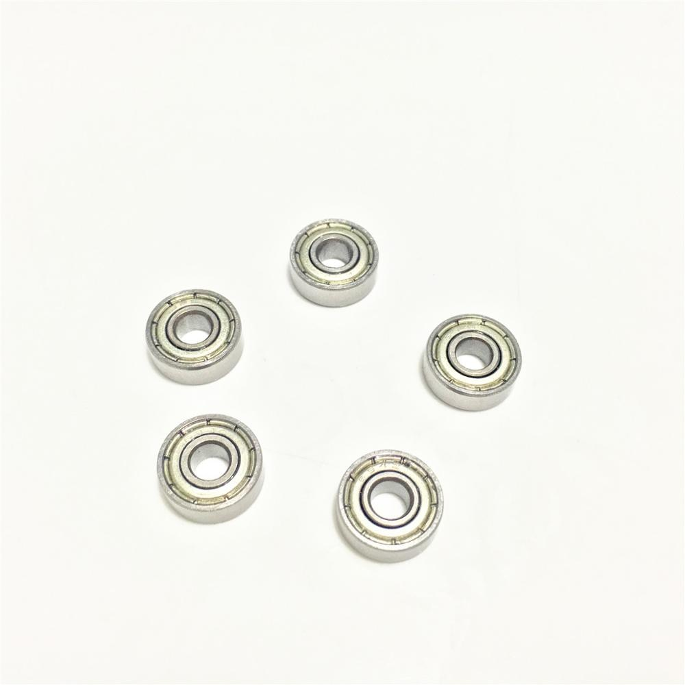 30 pcs 686ZZ 686Z 686 ZZ 2Z 6x13x5mm 6*13*5 Sulco Profundo rolamento de esferas de Metal Blindado Selado Rolamentos Em Miniatura
