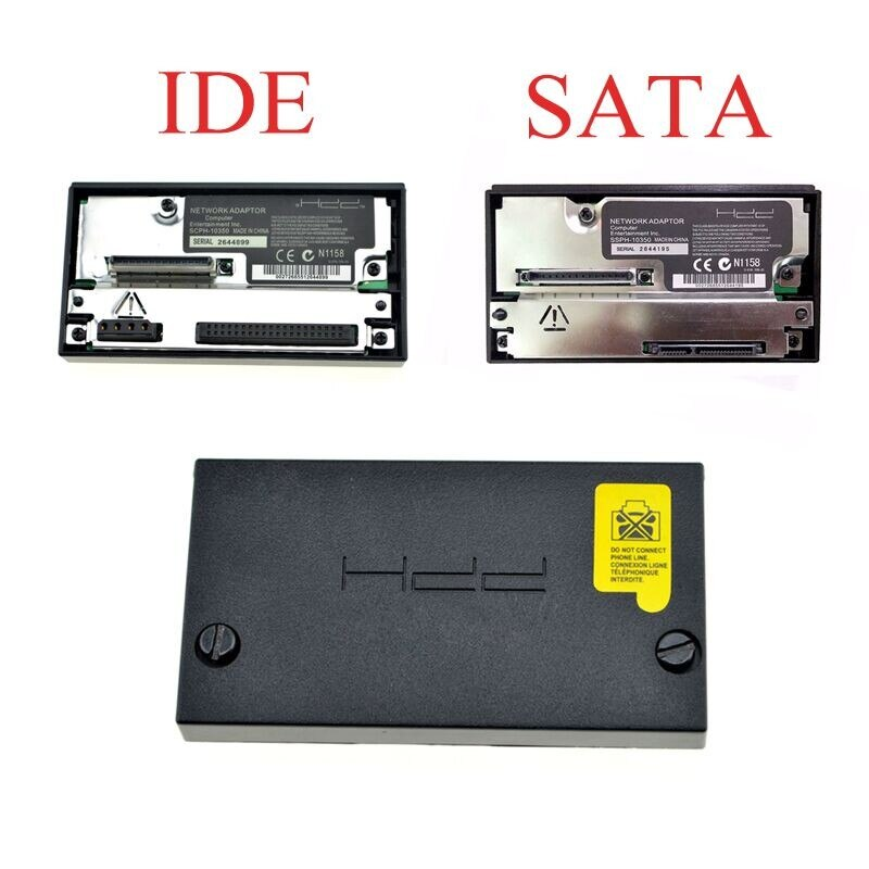 SATA Network HDD Adapter For PS2 Fat Console Socket IDE Adapter SCPH-10350 For Sony Playstation 2 Fat Adapter Games Accessories