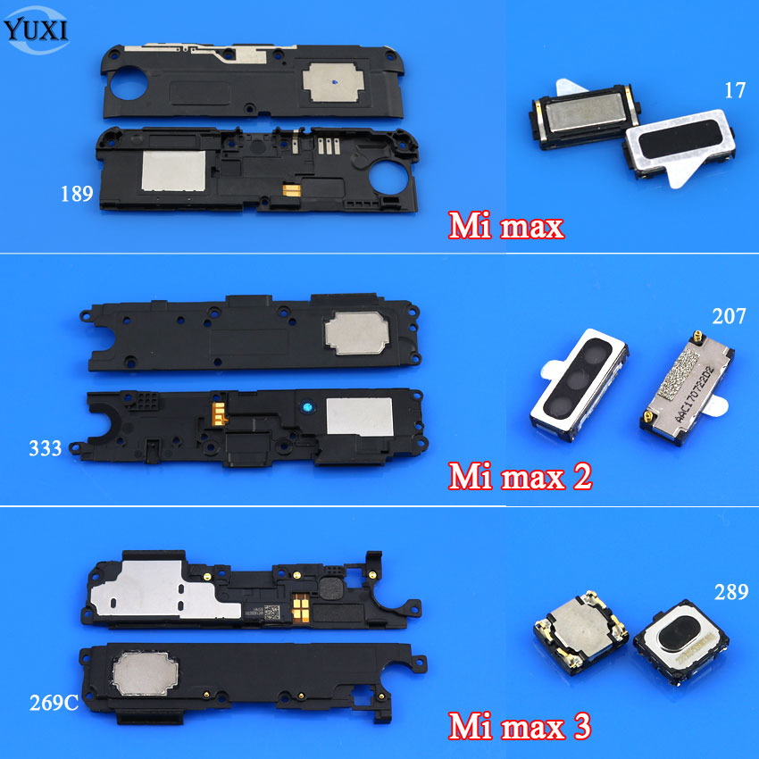 1 Stück Lautsprecher Buzzer Ringer Lautsprecher Ohr Lautsprecher Hörer Ersatz Für Xiao Mi Mi Max 1 2 3 Handy Flex Kabel Aliexpress