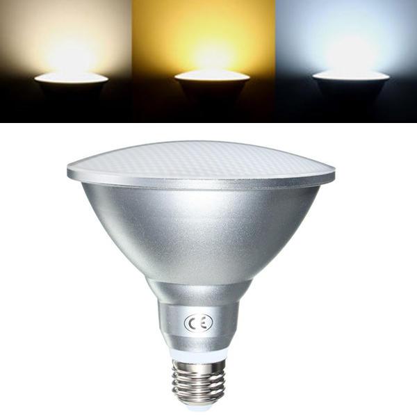 Bombilla LED E27 9W/12W/18W PAR20 PAR30 PAR38 a prueba de agua IP65, iluminación interior regulable, AC85-265V, Envío Gratis