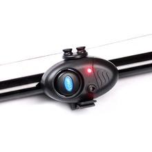 Petite pêche MINI électronique sans fil ABS poisson morsure alarme son en cours dexécution LED tapis sensible accessoires de pêche
