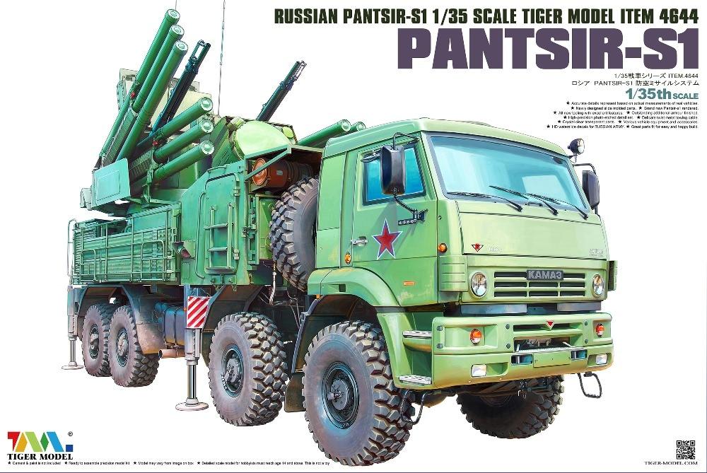 Modelo de Tigre, artículo a escala 4644, Pantsir-S1 ruso, 1/35 nuevo