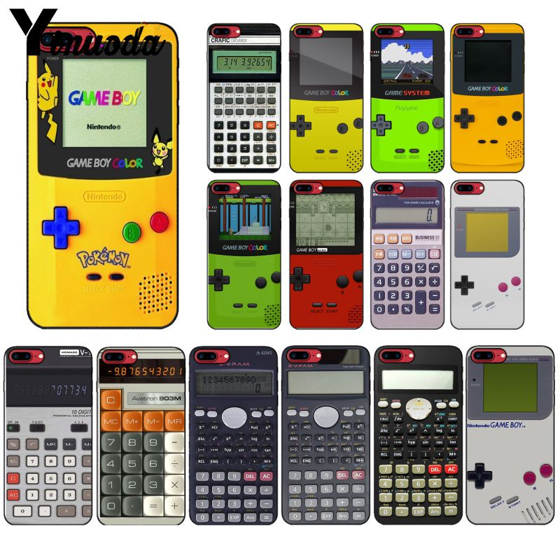 Yinuoda Gameboy juego chico calculadora funda para teléfono para iphone 11 Pro Max X XS X máx. 6s 6 7 8plus 5 5S SE XR