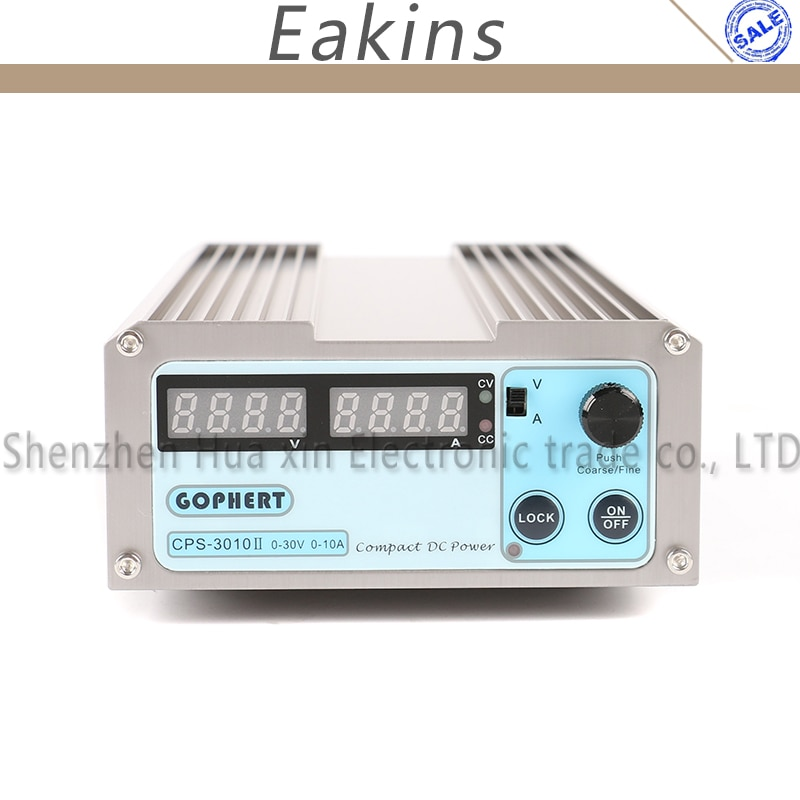 CPS-3010II نسخة مطورة 30 فولت 10A OVP/OCP/OTP عالية الطاقة المدمجة قابل للتعديل الرقمية تيار مستمر امدادات الطاقة 110 فولت/220 فولت