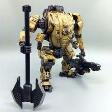 1/27 JOYTOY actiefiguren mecha figuur Robot mech geel TIEKUI MECH collection present gift gratis verzending