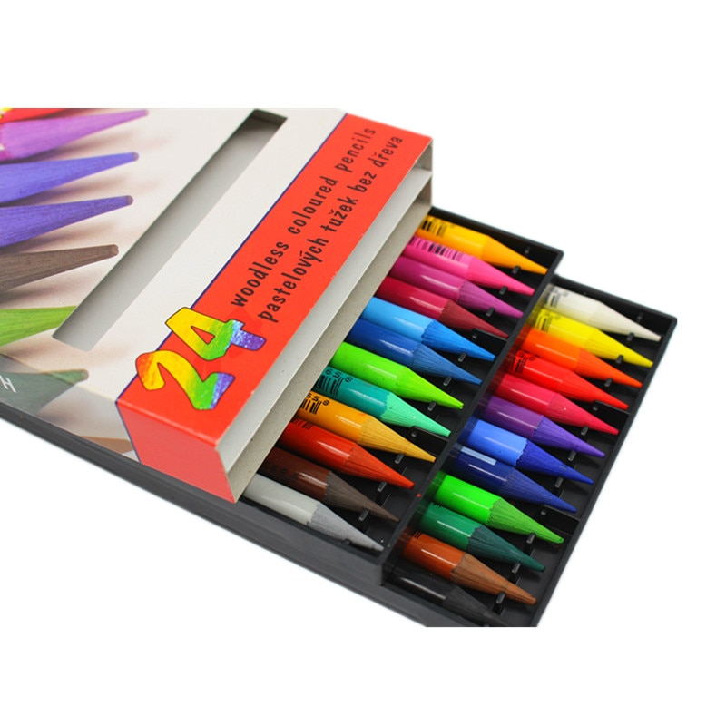 KOH-I-NOOR 12&24 woodless colored pencils