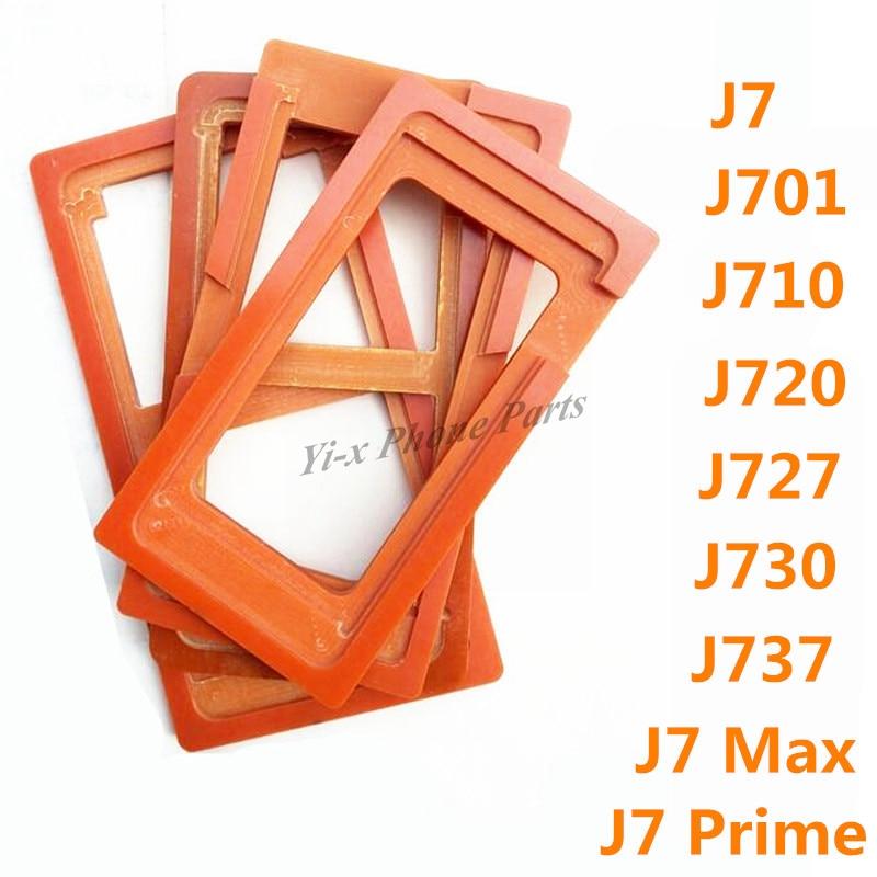 1pcs Glue Mould LCD Screen Glass Mold Holder for Samsung Galaxy J7 J701 J710 J720 J727 J730 J737 J7 Prime G6100 J7 Max