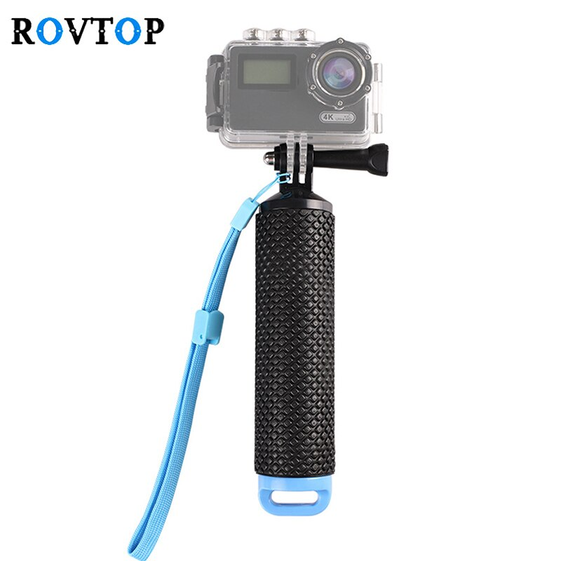 Empuñadura flotante impermeable Rovtop para cámara GoPro Hero 7 6 5 4 3 + 2 cámaras de acción deportiva acuática accesorios de montaje Z2