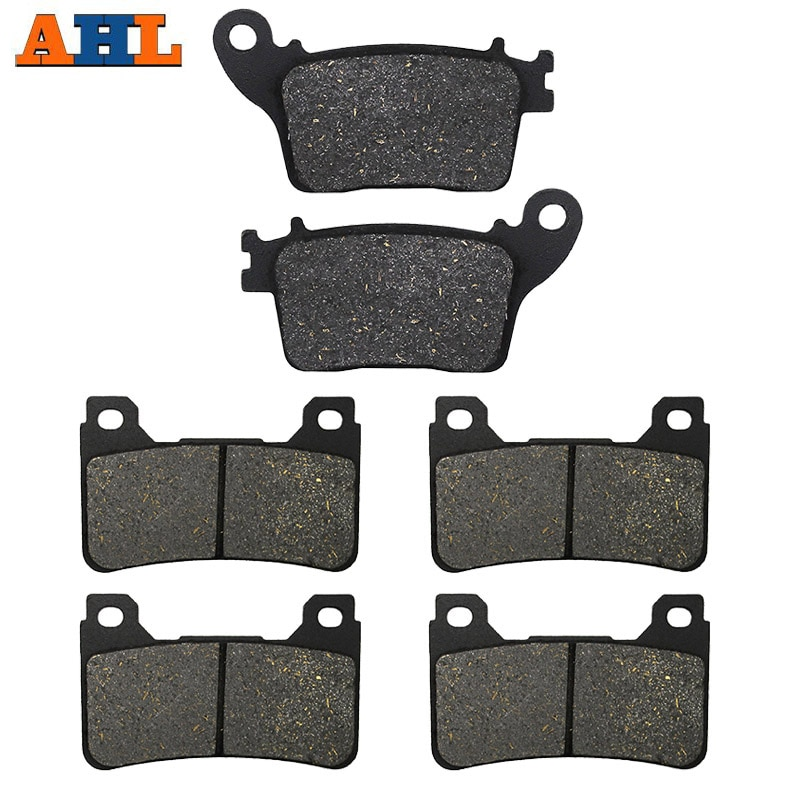 motorcycle parts front and rear brake pads discs kit for for cbr 600 f4 f4i motorcycle accessories AHL Motorcycle Front and Rear Brake Pads For Honda CBR600RR RRA CBR600 R RA9 CBR 1000 RR CBR1000