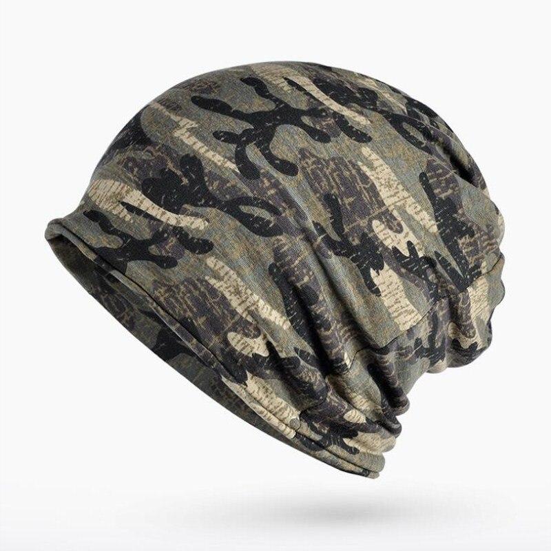 Шапка Seioum Мужская и женская, армейская камуфляжная трикотажная хлопчатобумажная шапка-термо-шарф