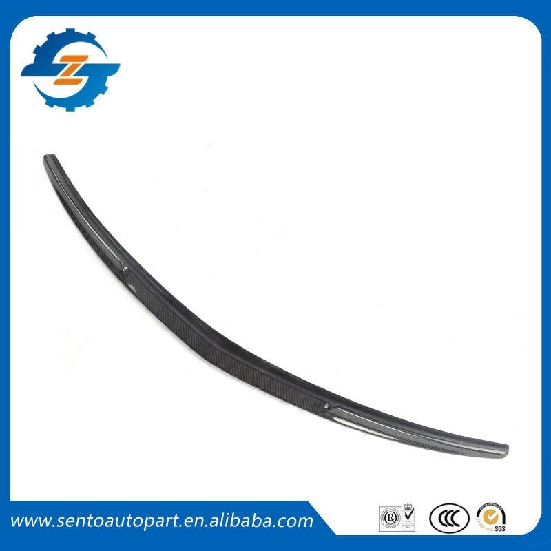 Alta calidad Material de fibra de carbono alerón trasero de coche Spoiler trasero para W207 E200 E260 E350