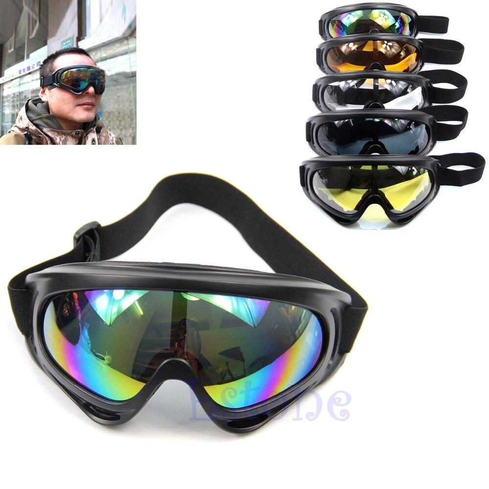 Nueva Snowboard a prueba de polvo gafas de sol de gafas de esquí lente de marco de gafas Paintball deportes al aire libre a prueba de viento gafas