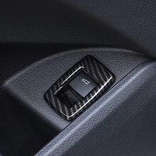 Voiture porte coffre bouton de commutation cadre décoration couverture garniture pour BMW X1 F48 2016-18 X2 F39 2018 ABS Auto intérieur style