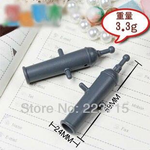 ¡Envío gratis! 20 piezas * Cannon * DIY bloques para iluminar bloque, compatibles con partículas de ensamblaje