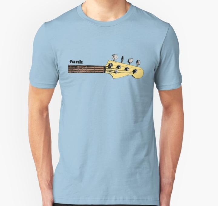 Camiseta de manga corta Funk Bass para hombre