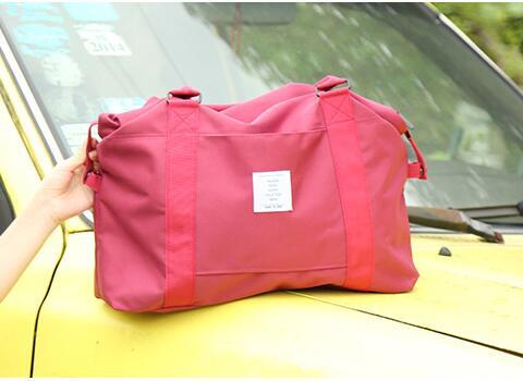 Складная дорожная сумка, нейлоновые дорожные сумки, ручной чемодан для мужчин и женщин, модные дорожные спортивные сумки, большая сумка, вещ...