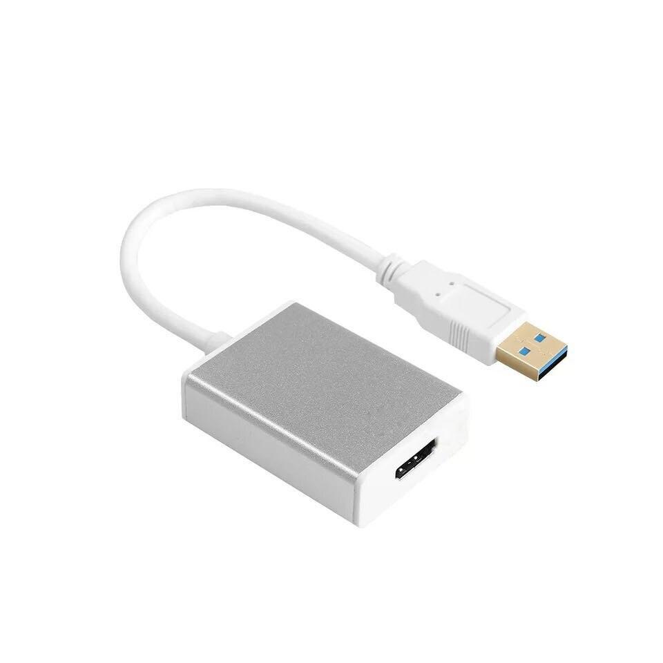 Nuevo convertidor adaptador gráfico USB 3,0 a HDMI para HDTV LCD ordenador portátil Audio Video