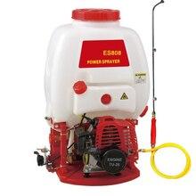 Pulvérisateur à dos pulvérisateur de jardin   Pulvérisateur à eau ES808 brûleur à huile, Pulverizador sac à dos, pulvérisateur de jardin, outils agricoles de brouillard électrique