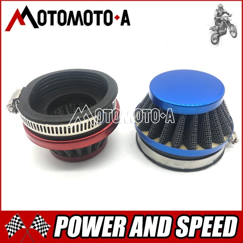 Filtro de aire de 60mm para carburadores Dellorto SHA SHBC Mikuni TMX, ciclomotor de TRES RAYOS, nuevo