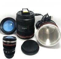 Автоматическая электрическая кружка для перемешивания кофе, смешивание, питьевая чашка, тонкий миксер Moo, в форме линзы фотоаппарата Bluw, Кру...
