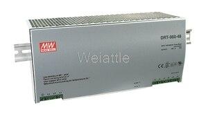 MEAN WELL оригинальный DRT-960-24 24В 40А meanwell DRT-960 24В 960 Вт одиночный выход промышленный din-рейка источник питания