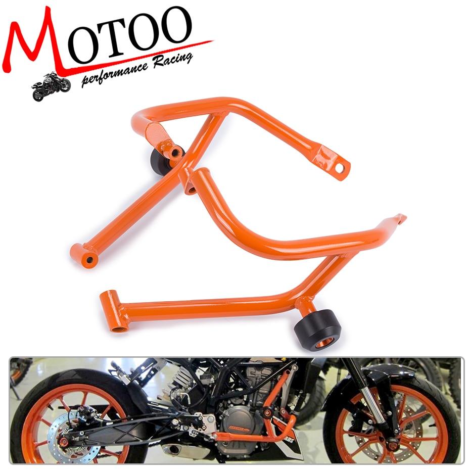 Para KTM Duque 200 DUKE200 2013, 2014, 2015, 2016 de la motocicleta reparación tanque protección Bar protección guardia accidente bares marco