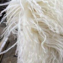 Tapis de mouton mongol véritable   Tapis doux et longs, en fourrure de mouton mongol/décoratif du Tibet