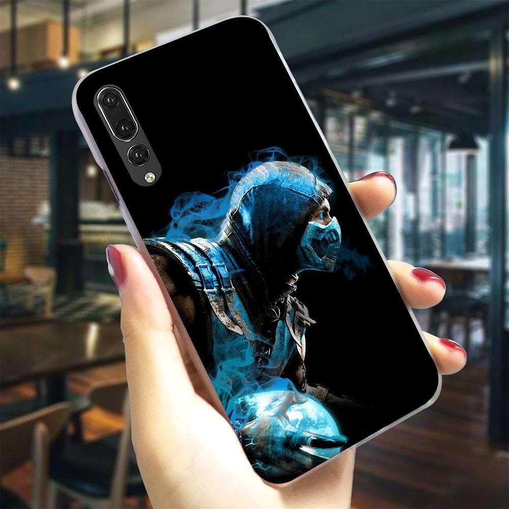 Mortal Kombat Telefon Abdeckung Für Huawei Ehre 9 Lite Fall 6A 7A Pro 7X 7C 8C/8 10 Lite spielen Y6/Y6 Y7 Prime Y9 Nova 3/3i/4
