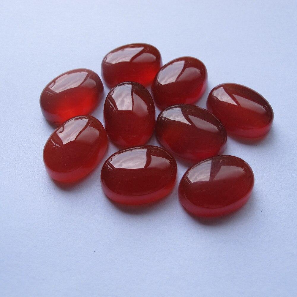 Hohe qualität Natürliche achat Karneol 15x20x7,5mm edelstein stein cabochon fit stein ring anhänger halskette DIY 5 teile/los