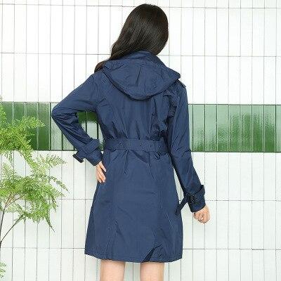 1 pcs  Raincoat Adult Maternity Waterproof Hood Poncho Travel Camping Must Rain Coat Women Poncho Long Rainwear jacket Outdoor enlarge