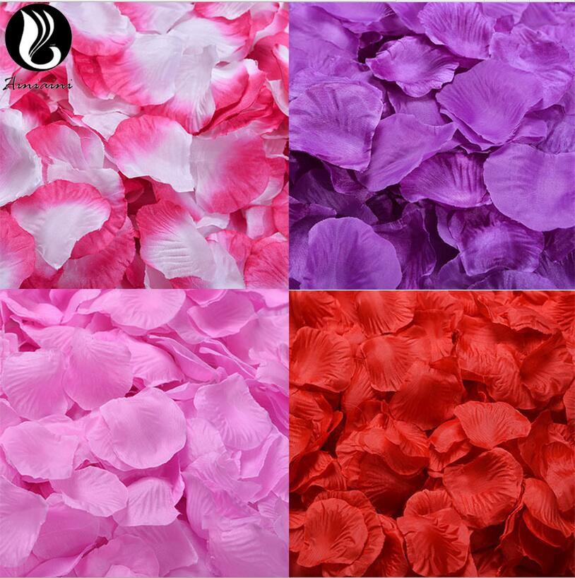 Flores artificiales De 5x5cm, accesorios De Boda, pétalos para bodas, Rosa De...