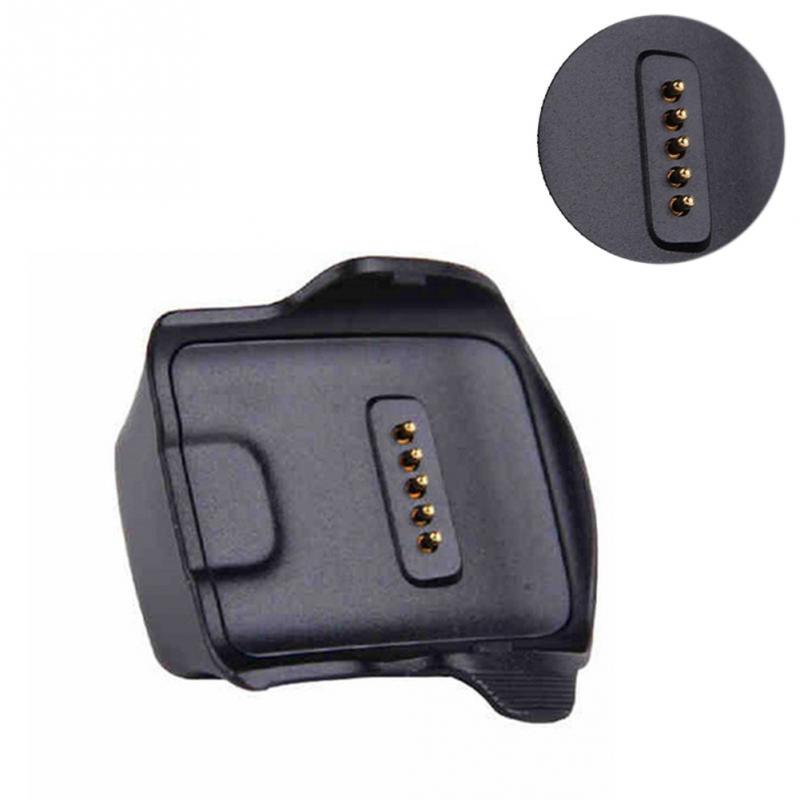 ABS черная станция зарядное устройство Колыбель USB док-станция для Samsung Galaxy Gear Fit R350