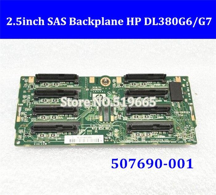 "Disco Duro de alta calidad 2,5 ""2,5 pulgadas SAS HDD SSD plano posterior para servidor HP DL380G6/G7 507690-001"