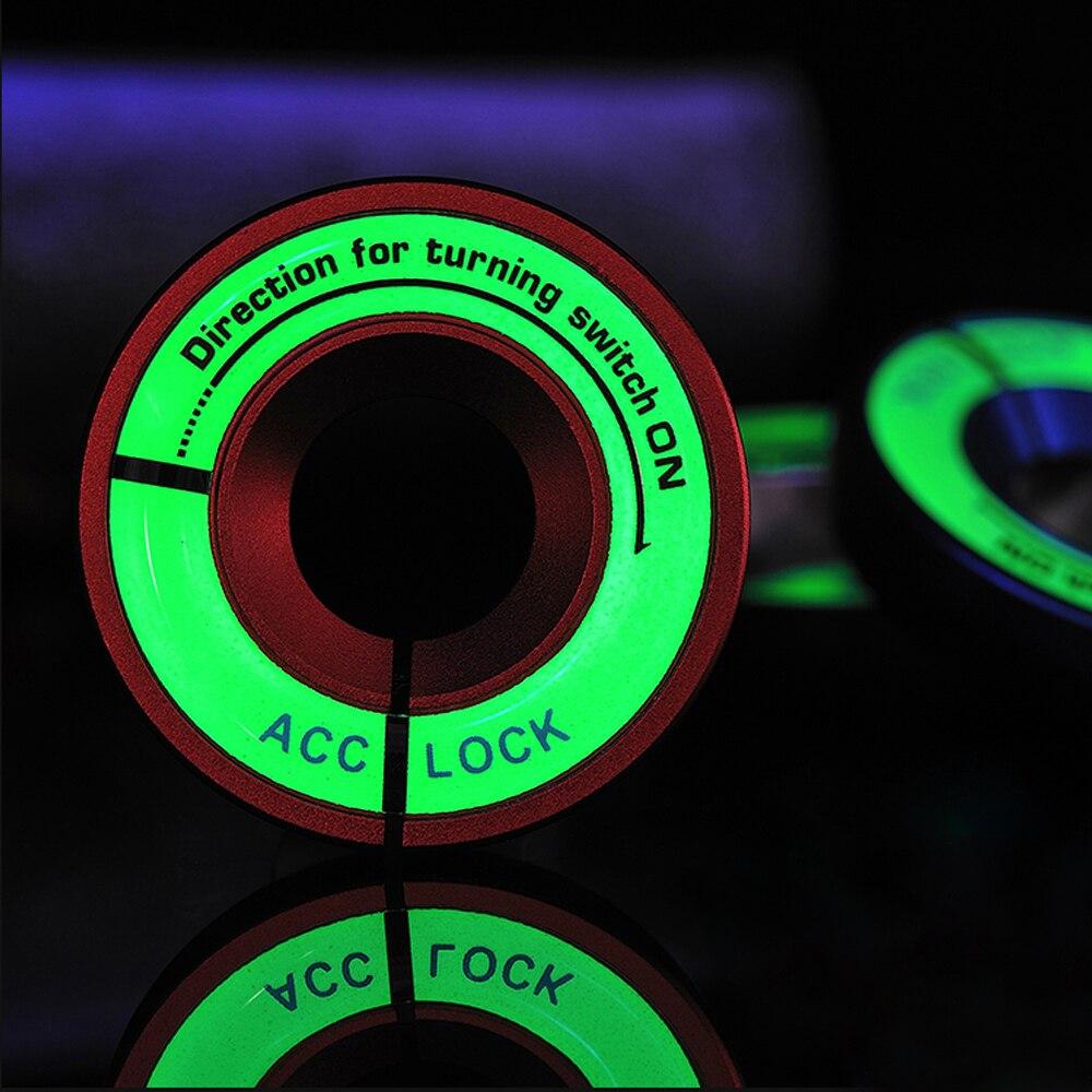 Светящийся Переключатель зажигания, автомобильные аксессуары для Skoda Octavia A5 A7 RS Fabia Superb Rapid Yeti для VW Passat POLO, автомобильный Стайлинг